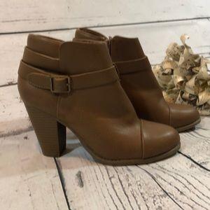 LC Lauren Conrad Heeled Booties Size 7.5